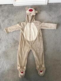 9-12 months pramsuit Rudolph