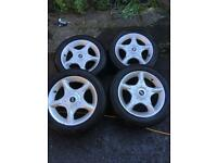 Mini One, Cooper. S alloy wheels as new tyres