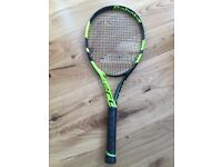 Babolat Pure Aero Tennis Racket. Grip 3. As New / Mint Condition