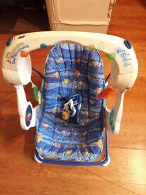 Baby Playing Seat - Aquarium take along swing
