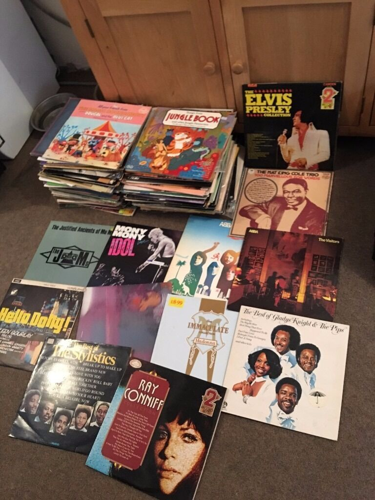 Record Collection - QTY 150+ 12