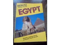 Egypt tour guide book