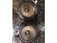 Genuine Vauxhall corsa D speakers