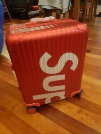 Supreme x Rimowa Red Suitcase 45L
