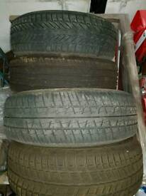 FOUR WINTER TYRES 185/65/14