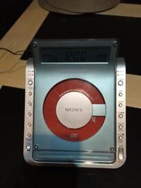 Sony cd radio clock as new