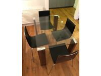 4x dining chairs from online retailer Made. Excellent condition
