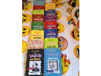 Diary of a wimpy kid set 15 books