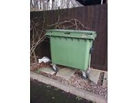 Industrial bin ideal for small business