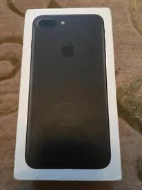 iPhone 7 Plus 256gb Matt black unlocked