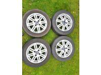 4 x ford focus alloy wheels