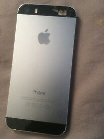 IPhone 5s in space grey