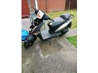 Kymco 50cc moped