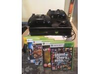 Xbox 360 s 250 gb with over 40 games