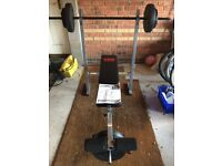 Pro Power Bench With 30Kg Weight