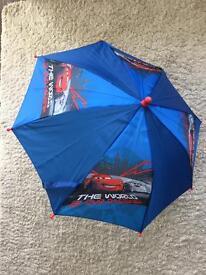 Boys / child's Disney Cars Lightening McQueen umbrella
