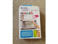 Munchkin Microwave Steriliser Bags - New (plus 1 extra free)