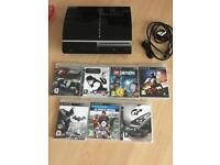Sony PlayStation 3 With 7 Game Bundle. 160gig hdd. PS3