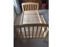 Mama's & Papa's wooden toddler bed