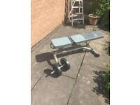 York incline weight bench