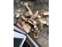 40-50 bricks to give