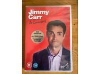 Jimmy Carr DVD - Brand New