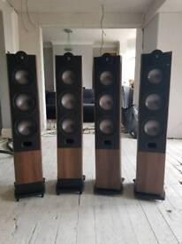 4 Mordaunt Short Mezzo 8 speakers