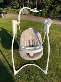 Graco Baby swing bouncer chair
