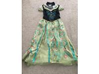 Disney 7-8 Anna dress.
