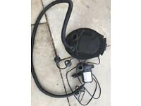 Camping foot pump and cigarette lighter 12v electric pump