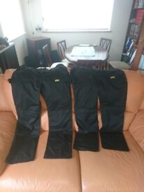 "2 x Pairs of Mens Work Trousers - Brand New - W36"" L32"""