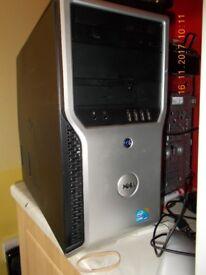 core i5 ** Dell Precision T1500 Fast desktop tower **