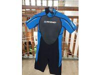 Rhino Shortie boys wetsuit XL