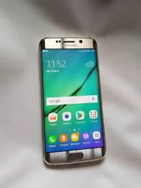 Samsung galaxy s6 edge 64gb unlocked mint condition