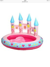 Princess Paddling Pool (with water cannon) and tent