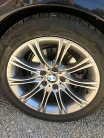 Bmw 18 inch alloys. M sport
