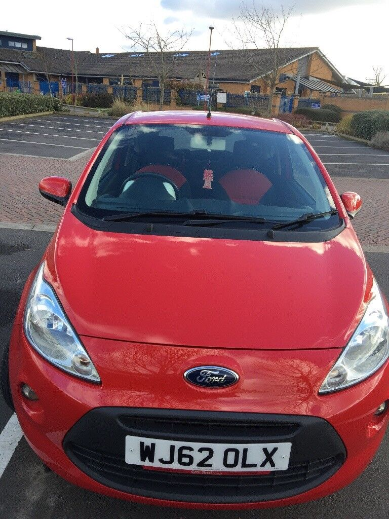 Ford Ka L Red Excellent All Round Condition Reliable