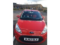 Ford Ka.2013. 1.2l. Red. Excellent all round condition. Reliable. Good student or town car.