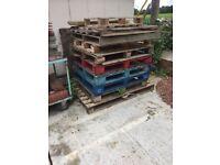 FREE sturdy pallets x 10