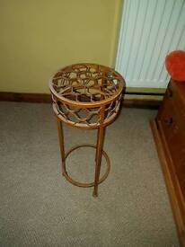 Small iron work table