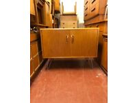 G Plan Fresco Mid Century Drinks/Media/Storage Cabinet on Hairpin Legs. Lovely Retro piece.
