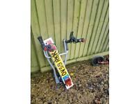 Tow bar 3-bike carrier