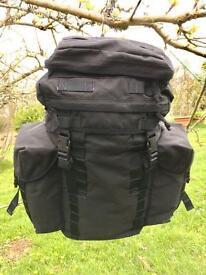 British Army 30 Litre Patrol Rucksack - Black