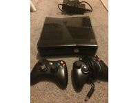 Xbox 360 with Kinect plus games