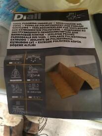 Diall vinyl flooring underlay