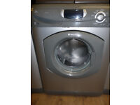 Silver Hotpoint Ultima Washing Machine - 1600 RPM - 7 KG