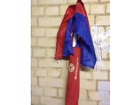 Corner poles and flags for football x4 comes with bag