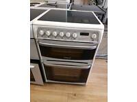 Cannon Double Oven Electric 60cm width. 3 months warranty