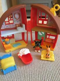 Bing bunny house home excellent condition