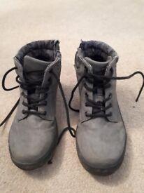 Size 2 boys grey boots